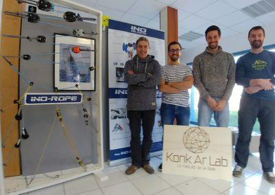 Ino-Rope & Konk Ar Lab : un partenariat gagnant-gagnant !
