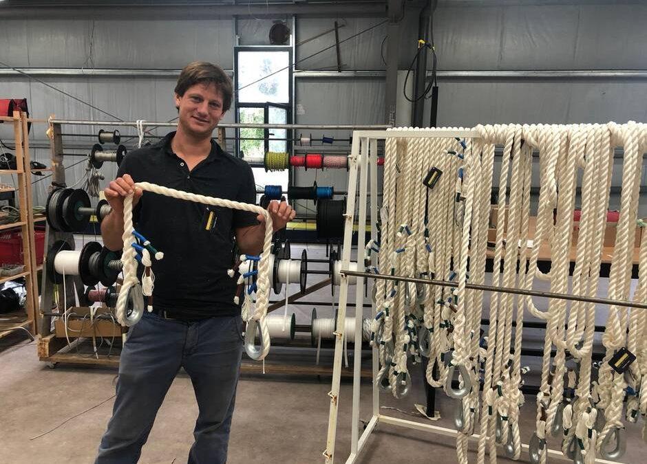 Bretagne. À Concarneau, l'entreprise Ino-Rope mise sur les lignes de mouillage en textile