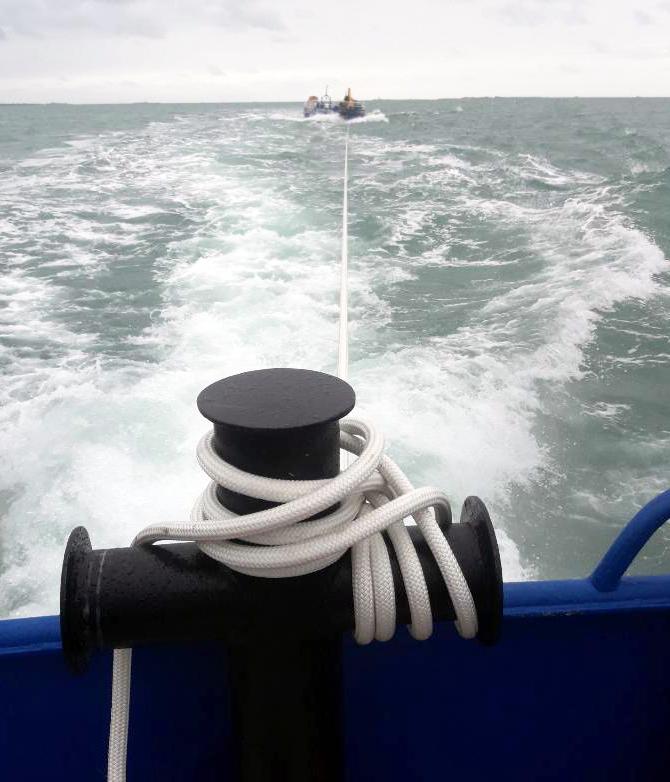 photo d'un cable de remorquage textile par Ino-Rope