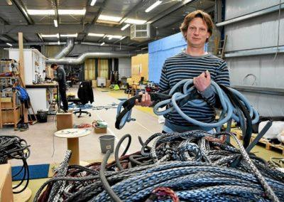À Concarneau, Ino-Rope a la fibre du succès
